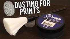 How to Lift Fingerprints: Dusting For Prints