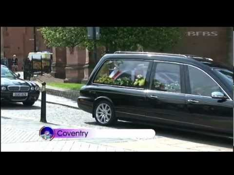 Royal Welsh soldier funeral takes place 25.06.12