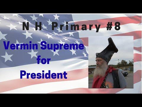 Vermin Supreme For President; New Hampshire Primary