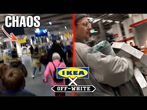 Ausnahmezustand Beim IKEA X Virgil Abloh Drop!