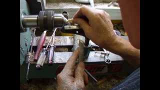 Simple metal and bone work for woodturners: Making an ISQ chess set pawn, video 3 of 3
