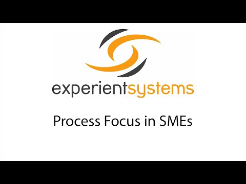 Process Focus in SMEs