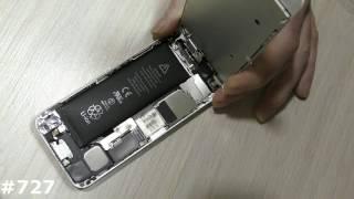 Быстрая самостоятельная замена батареи (АКБ) на Iphone 5(, 2017-03-19T06:45:21.000Z)