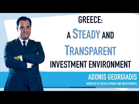 Adonis Georgiadis, Minister of Development and Investments - Greece Investor Guide (1)
