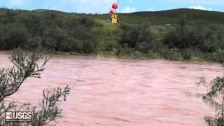 Hurricane Odile, AZ Flooding September 2014, USGS at Work
