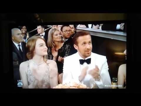 La La Land wins golden globe for best original song(new)