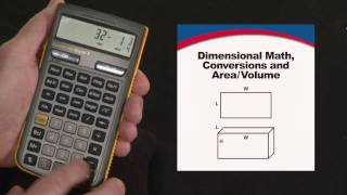 Construction Master 5 Dimensional Math and Conversions How To