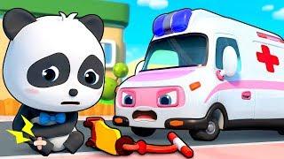 たすけて!きゅうきゅうしゃ! | のりものの歌 | はたらく車 | 赤ちゃんが喜ぶ歌 | 子供の歌 | 童謡 | アニメ | 動画 | ベビーバス| BabyBus