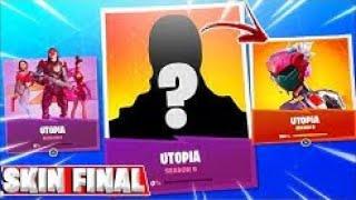 Hidden Skin of Fortnite season 9 Utopia revealed