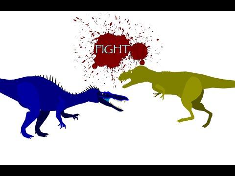 DBA-Suchomimus vs Daspletosaurus