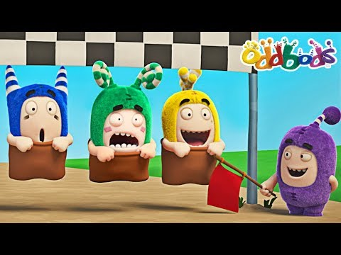 Oddbods - SPORTS DAY | NEW Episodes | Oddbods Show | Funny Animated Cartoons