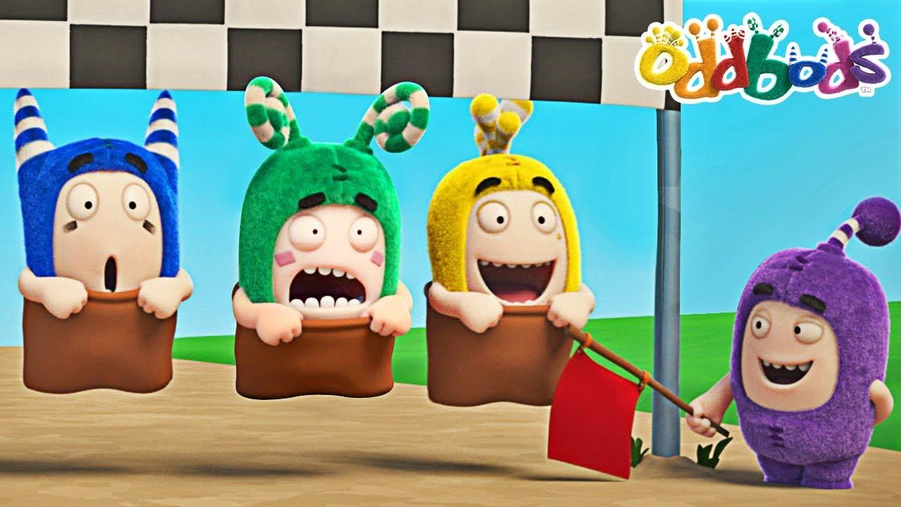 Oddbods   SPORTS DAY   Funny Cartoons For Children