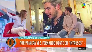 """El actor Fernando Dente pasó por """"Intrusos"""""""