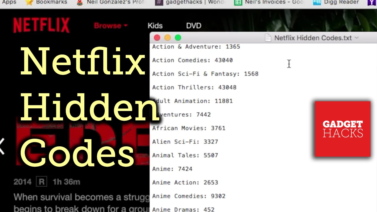 Netflix Hack: Unlock Hidden Categories with Secret Codes [How-To]
