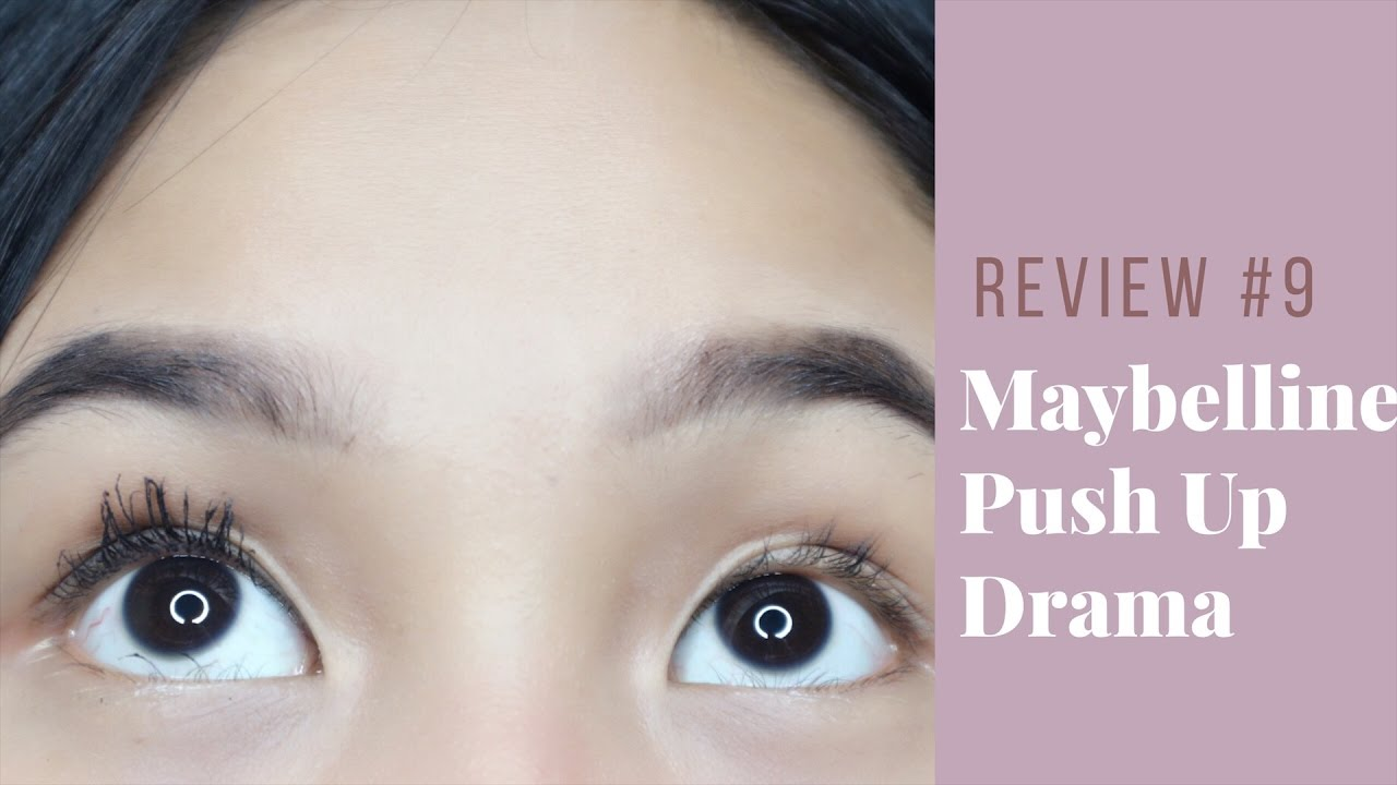 Review 9 Maybelline Push Up Drama Mascara Indonesia Nathaniechristy