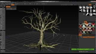 3d Coat - Voxel Tree Sculpt