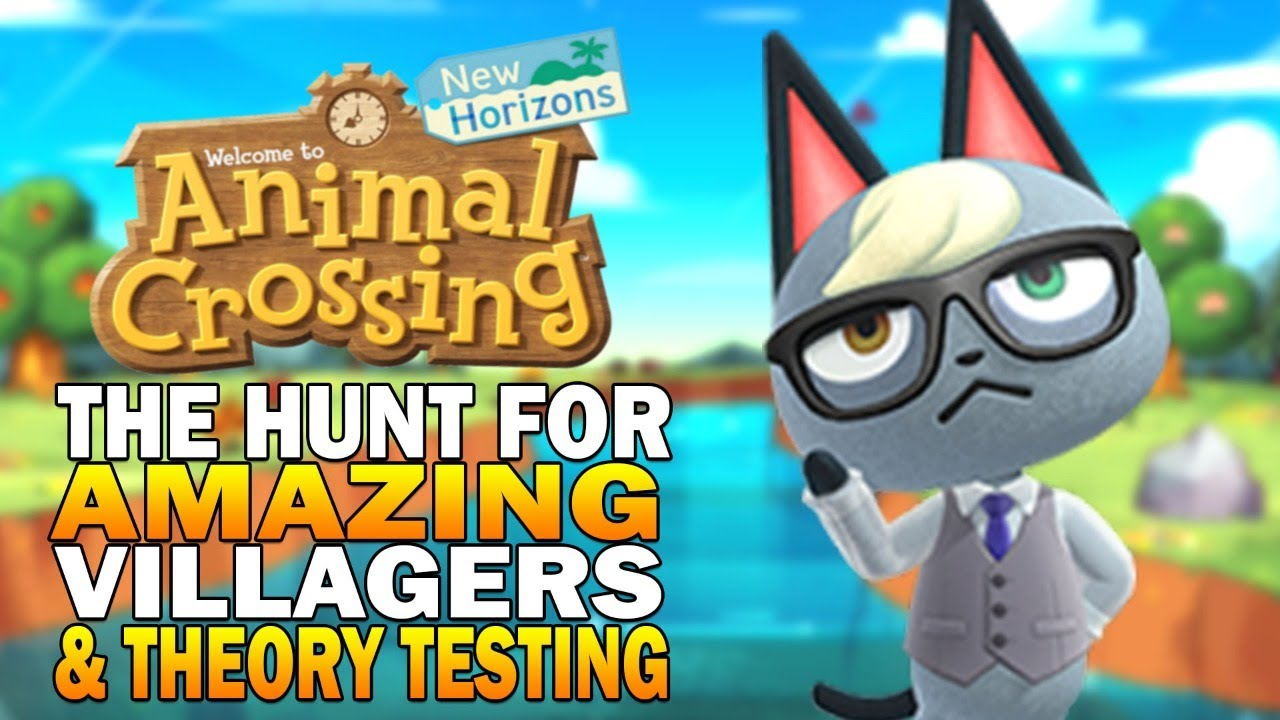 Hunting For Rare Villagers & Mystery Island Theory Testing ...