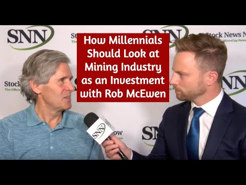How Millennials Should Look at Mining Industry as an Investment with Rob McEwen | SNN Network