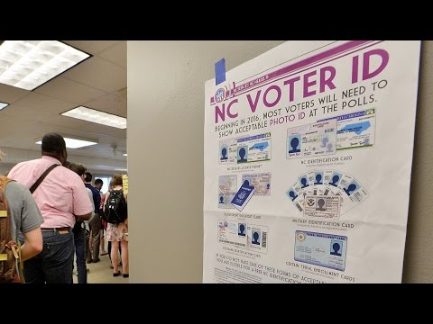 NC tries to keep discriminatory voting laws