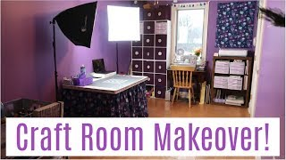 EXTREME Craft Room Makeover + Tour! (Part 2)