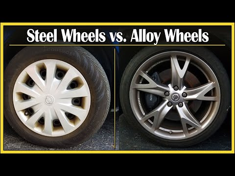Steel Wheels vs. Alloy Wheels |  Did You Know? Segment: Episode 6
