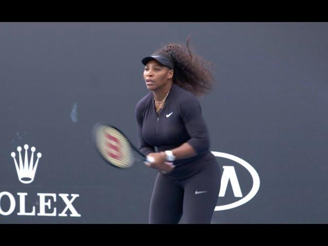Serena Williams Practice | 2020 Australian Open