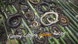 Yummy Cooking Snake Recipe - Rural Cooking