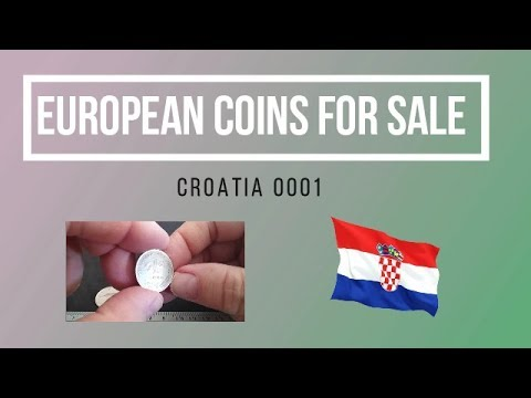 EUROPEAN COINS FOR SALE - CROATIA 0001