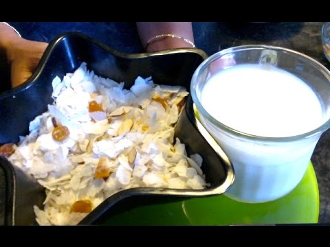 Quick Snack/Breakfast Poha/Atukulu/Flattened Rice-Healthy alternative for Commercial Cereal