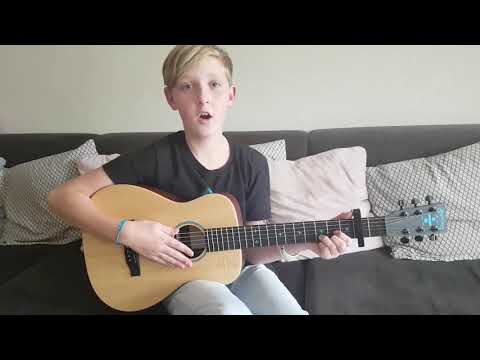 Luc plays Ed Sheeran ÷ Signature Divide Martin Guitar Photograph Dutch