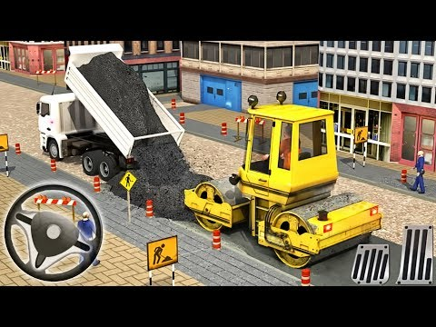 Excavator Simulator - Construction Road Builder | Construction Vehicles - Android GamePlay