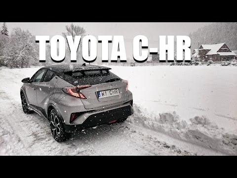 Toyota C-HR (ENG) - Test Drive and Review