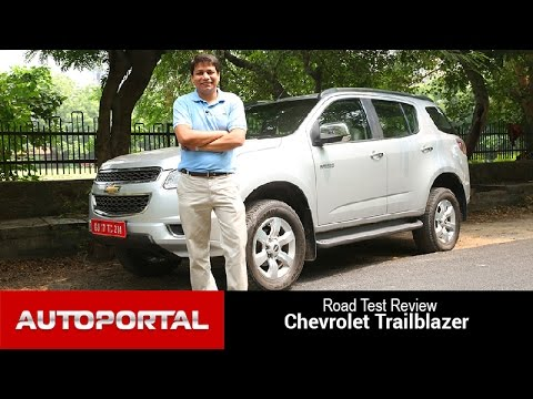 Chevrolet Trailblazer Test Drive Review - Auto Portal