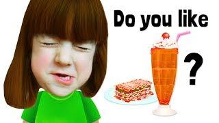 Скачать Do You Like Lasagna Milkshakes Ice Cream And Lasagna Super Simple Songs