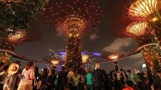 Chinese Singaporeans celebrate Mid Autumn Festival