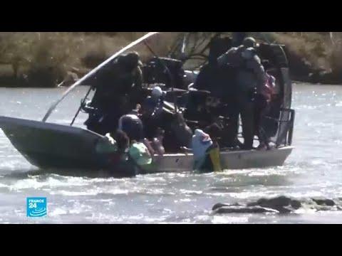 قوات أمريكية تنقذ عددا من المهاجرين قرب الحدود المكسيكية  - 16:56-2019 / 2 / 13