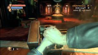 I Use Cheats #9 - Bioshock 2 online mods - ownage with godmode, noclip, and sick sniping :)
