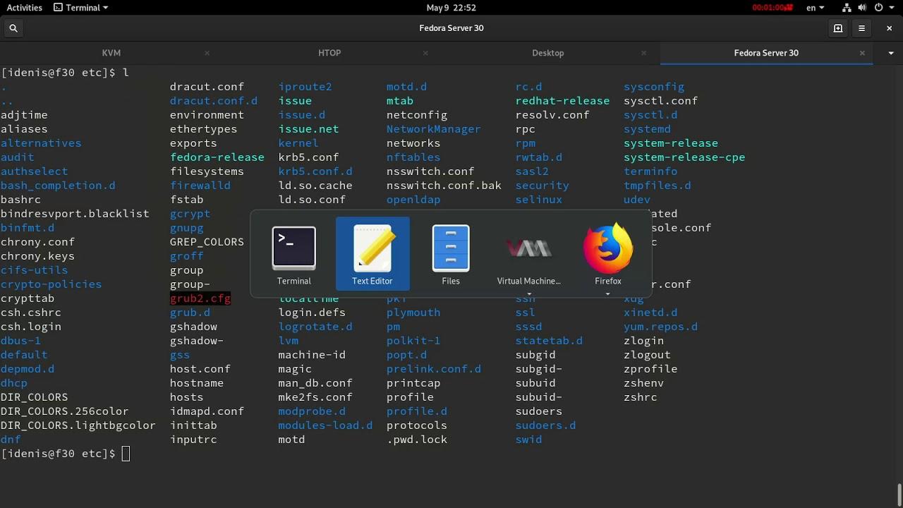 LFCS | Поиск файлов с определенными разрешениями | Fedora Server 30