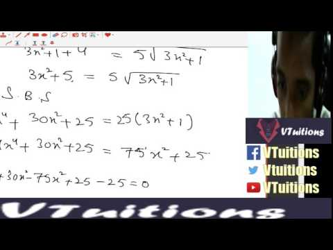 Chapter 3 Exercise 3 4, Exercise 3 5 Math First Year Class - Sindh Board in  Urdu and Hindi