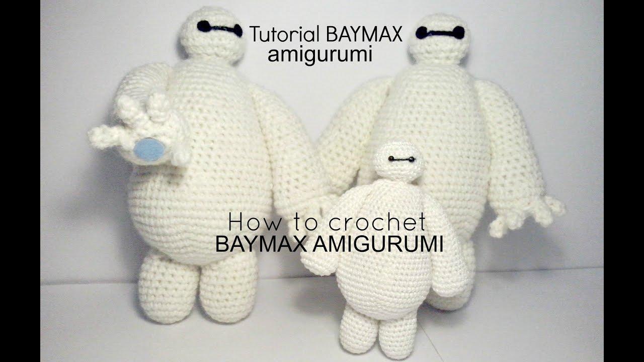 Tejido Amigurumi Tutorial : Tutorial baymax big hero 6 how to crochet baymax amigurumi part