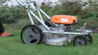 Professional mowers range Rasion