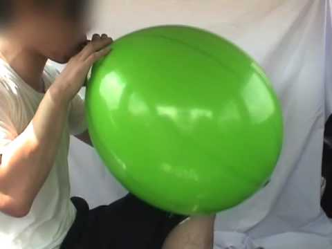 Blow & Ride to Pop - [ Green Punchball ]