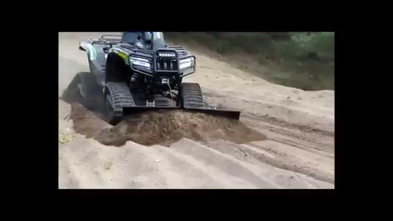 Quad Amp Atv V Plow V Pro 152 Youtube