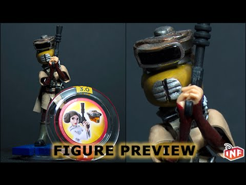 Disney Infinity Princess Leiau0027s Boushh disguise figure preview & Disney Infinity Princess Leiau0027s Boushh disguise figure preview - YouTube
