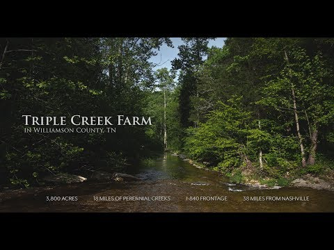 For Sale: Triple Creek Farm | Franklin, Tennessee