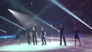 Начало ледового шоу 2018 в Барнауле
