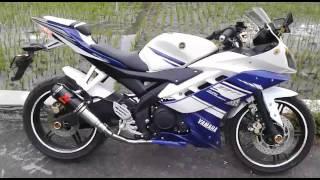 Knalpot Racing Yamaha R15 Akrapovic GP Carbon Titanium | Motoralap Exhaust