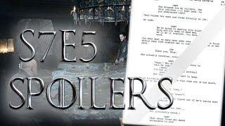 Season 7 Episode 5 New Leaked Scenes ! | Game of Thrones Season 7 Episode 5