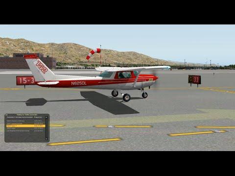 X-Plane Cesna 172 - Catalina - Van Nuys