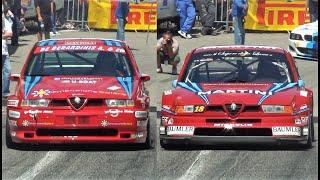550Hp Alfa 155 GTA Vs 12.000RPM Alfa 155 DTM || Turbo Monster VS NA Screamer